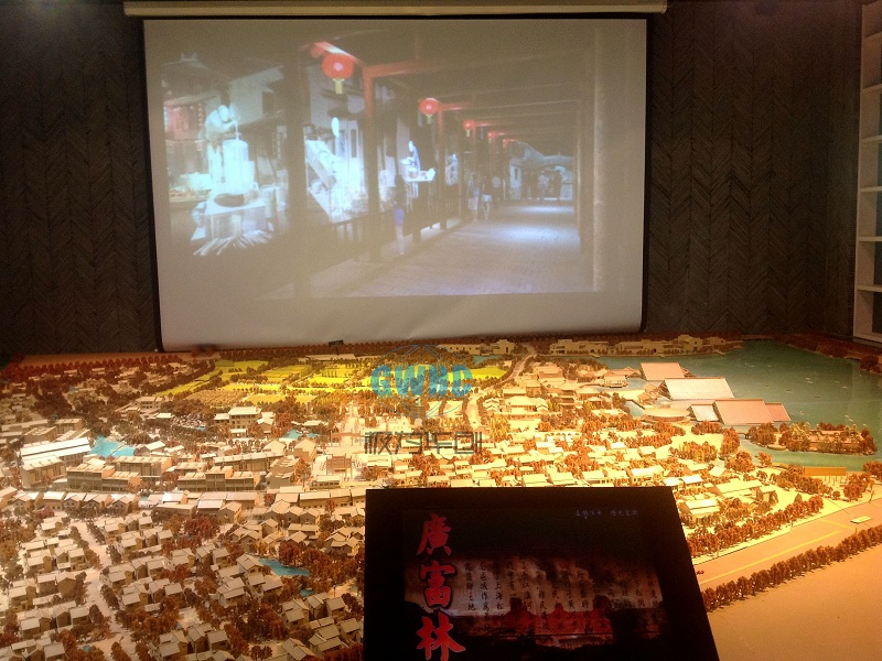 SanXing Town Multimedia Sand Table Model Featured Image