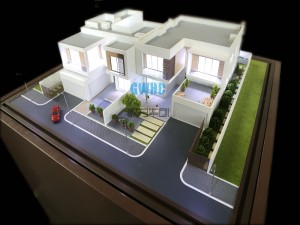 villa house model of Dubai project